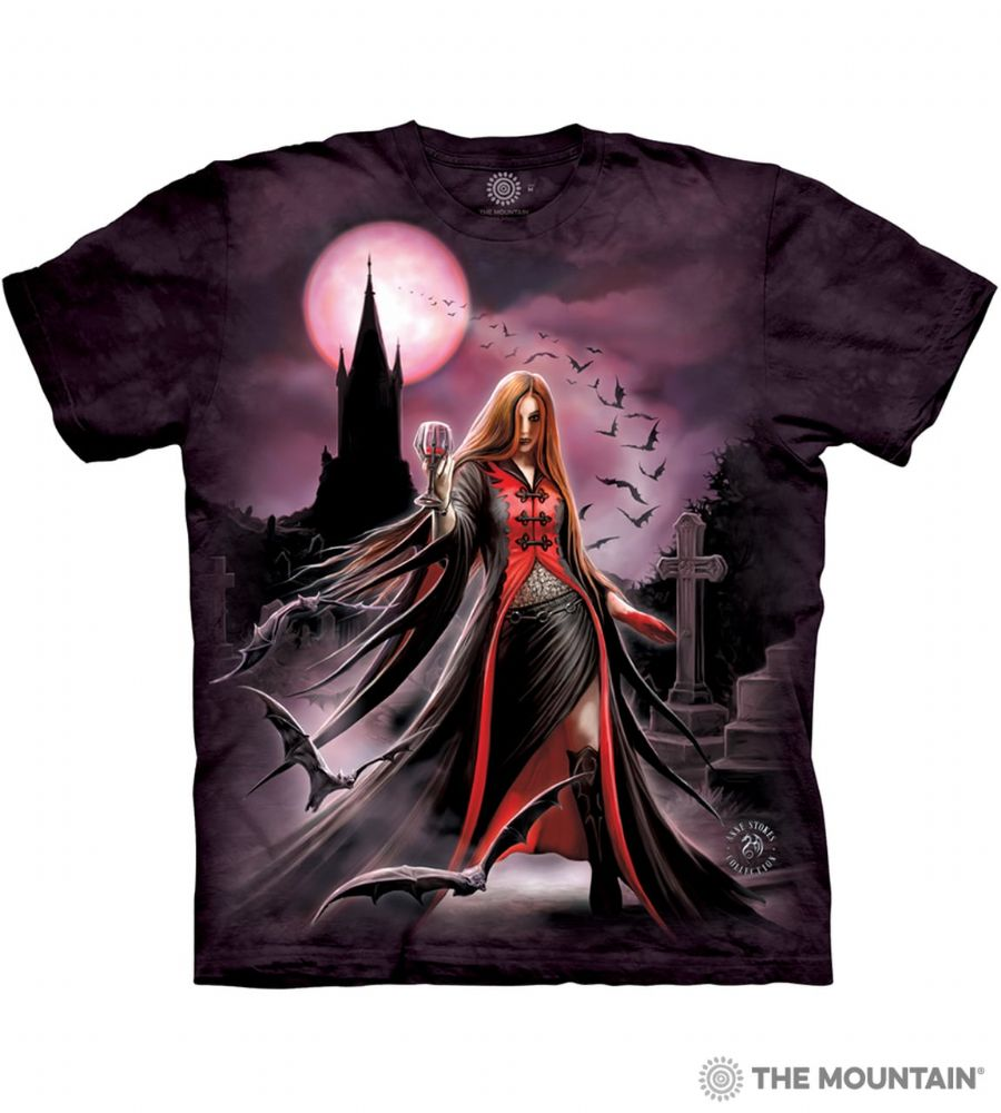 Blood Moon Vampire - Adult Fantasy T-shirt - The Mountain®
